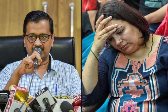 Vivek Tiwari case: Kejriwal speaks to his wife, slams...- India TV