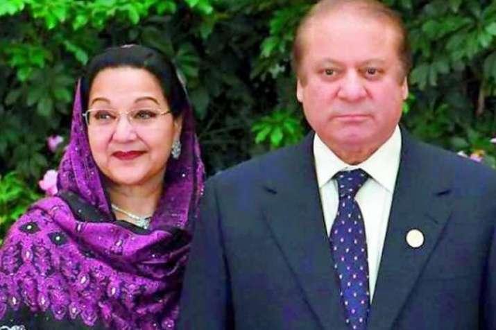 Kulsoom Nawaz and Nawaz Sharif | AP- India TV