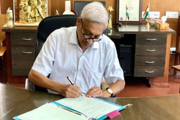 गोवा के मुख्यमंत्री...- India TV