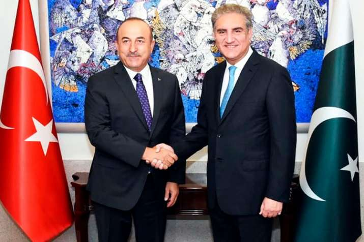 Turkey desires a peaceful solution to Kashmir issue, says Turkish FM Cavusoglu in Pakistan | AP- India TV