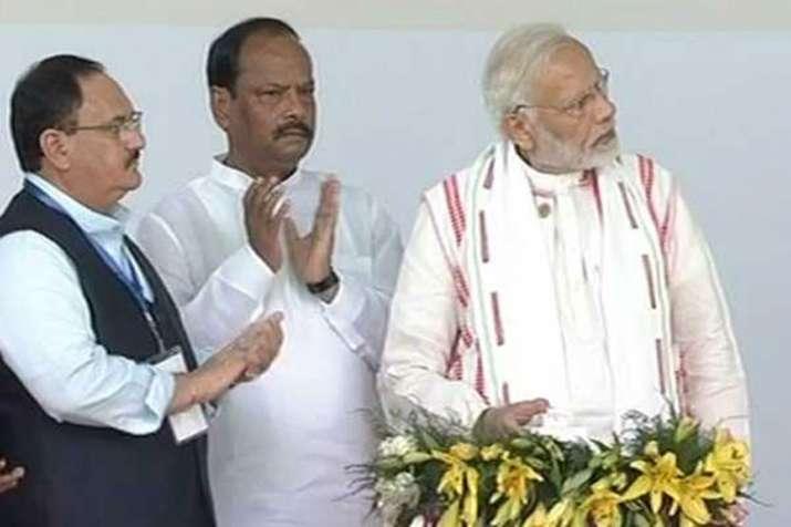 PM Narendra Modi launches Ayushman Bharat Yojna in Ranchi- India TV