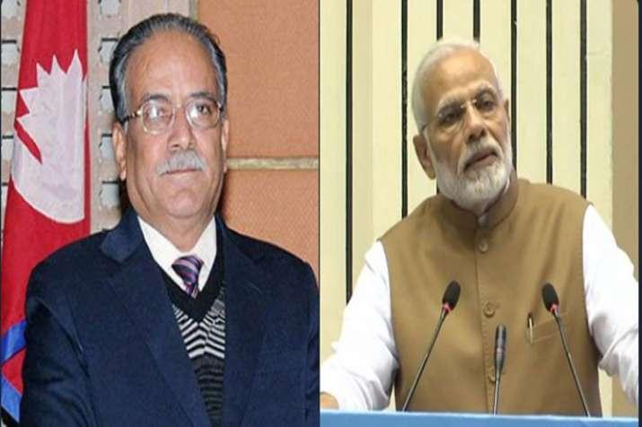 PM Modi and Prachand- India TV