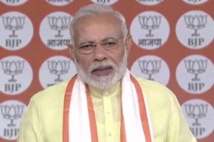 पीएम मोदी आज करेंगे भाजपा बूथ कार्यकर्ताओं से संवाद- India TV