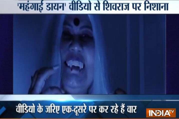 Viral Video: मध्य प्रदेश चुनावों से पहले शिवराज सिंह सरकार पर कांग्रेस का वीडियो वार- India TV