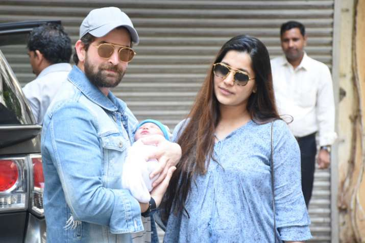 Check out first pics of Neil Nitin Mukesh and wife Rukmini Sahay's baby girl Nurvi - India TV