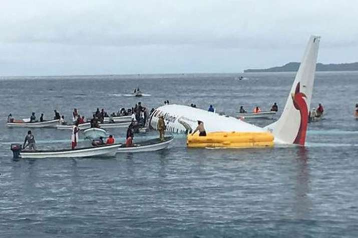 Passengers, crew survive after Air Niugini plane crashes into sea near New Zealand | AP- India TV