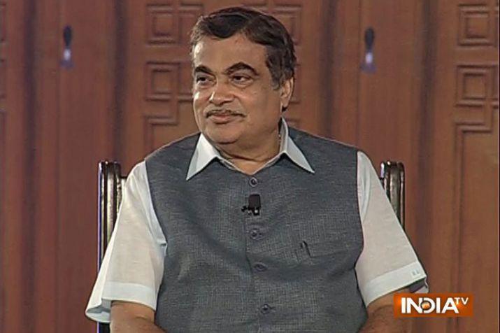 Nitin Gadkari in Aap Ki Adalat- India TV