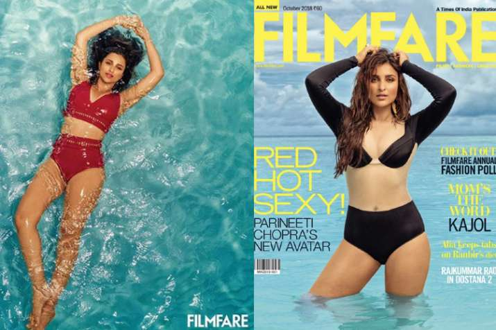 Parineeti Chopra black bikini- India TV