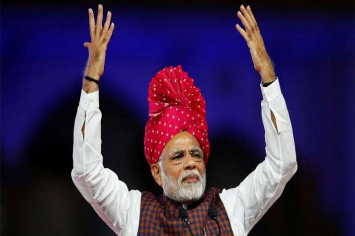 BJP highlights the 4 year report card of government on 68th birthday of PM Modi - India TV Paisa