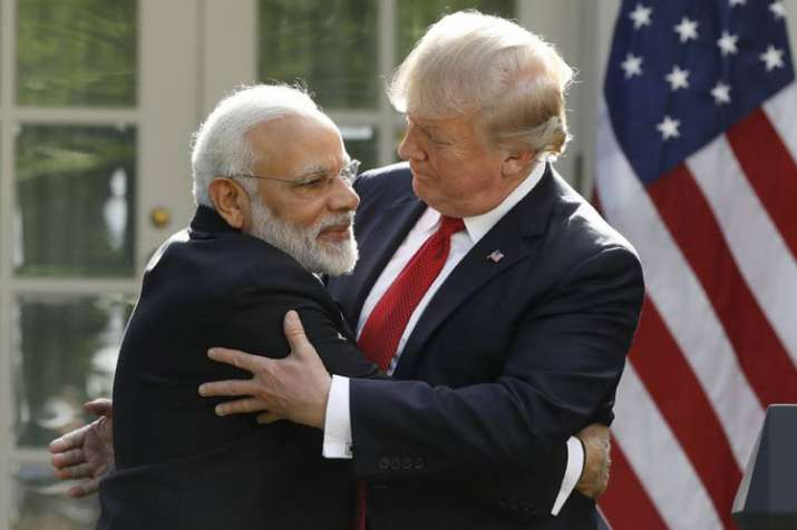 PM Modi and President Trump (File pic)- India TV
