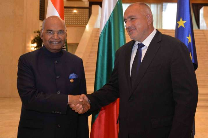 President Ram Nath Kovind meets Bulgarian PM, invites companies to India   AP- India TV