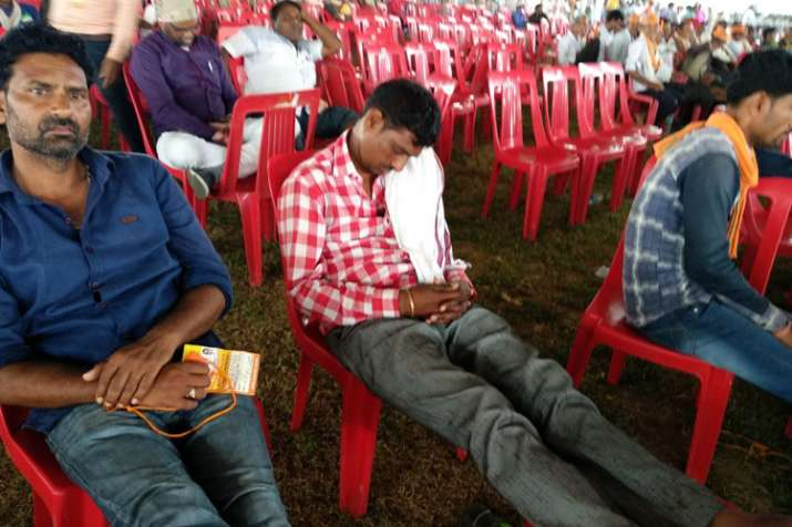 मोदी-शाह की सभा में...- India TV
