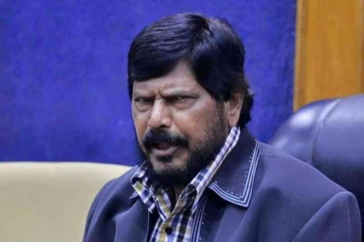 Ramdas Athawale apologises for his 'I am a minister' remark on rising fuel prices   PTI File- India TV