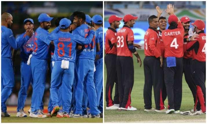 India vs Hong Kong- India TV