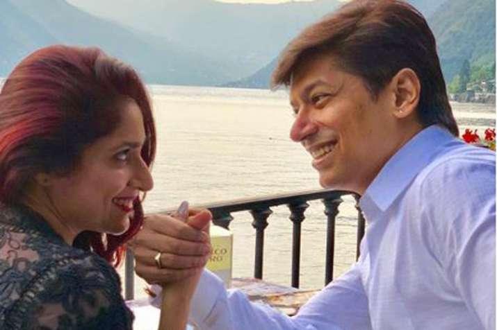 Shaan with wife Radhika- India TV