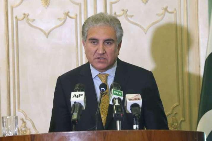 Pakistan won't abandon peace efforts despite India's reluctance, says Shah Mehmood Qureshi- India TV