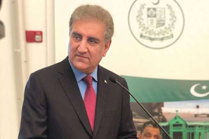 Indian govt not coming to talks table because of upcoming elections, says Shah Mehmood Qureshi- India TV