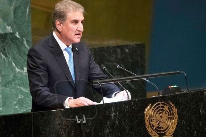 Shah Mehmood Qureshi rakes up Kashmir issue at UNGA | AP- India TV
