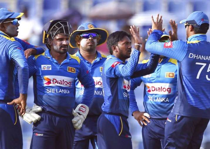 Sri lankan team- India TV