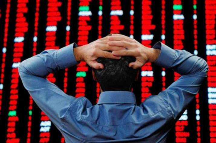 Free fall in Stock market, Sensex plunges more than 500 points- India TV Paisa