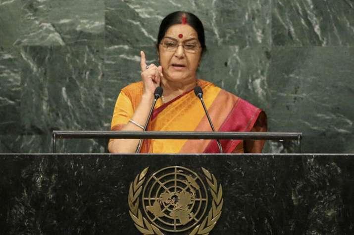 Sushma Swaraj at UNGA | AP- India TV