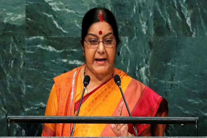 External Affairs Minister Sushma Swaraj to address UN General Assembly in New York on Saturday- India TV