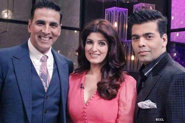 Akshay Kumar, Twinkle Khanna, karan Johar- India TV