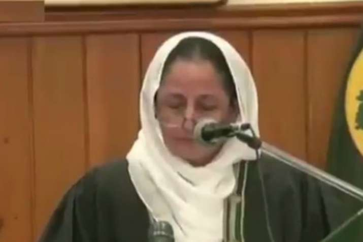 Justice Tahira Safdar takes oath as first woman Chief Justice of a Pakistani high court- India TV