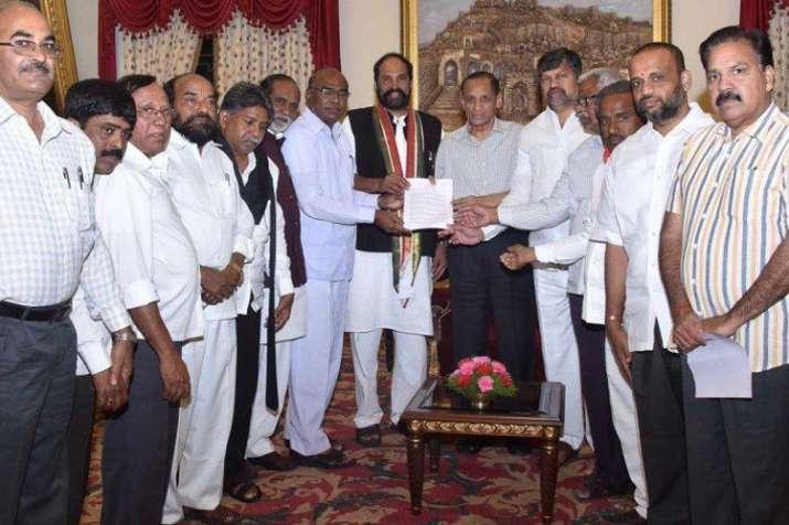 तेलंगाना में कांग्रेस, TDP और CPI ने बनाया गठबंधन, राष्ट्रपति शासन की मांग- India TV