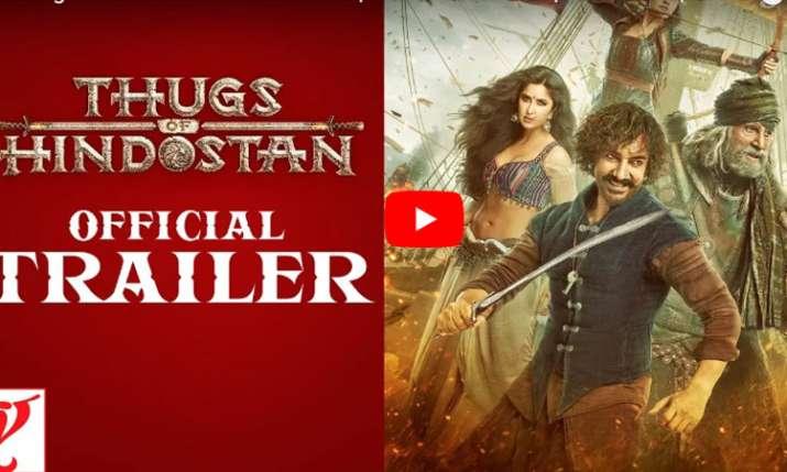 Thugs of Hindostan Trailer- India TV