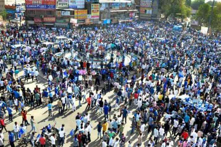 Violent protests in many states during bharat bandh- India TV