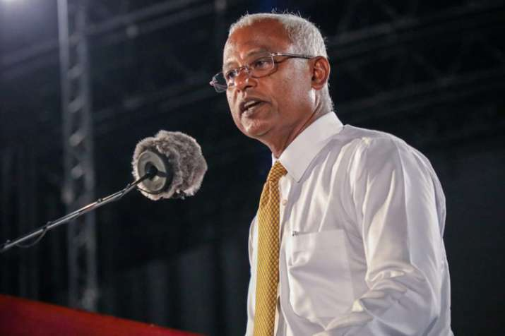 Ibrahim Mohamed Solih- India TV