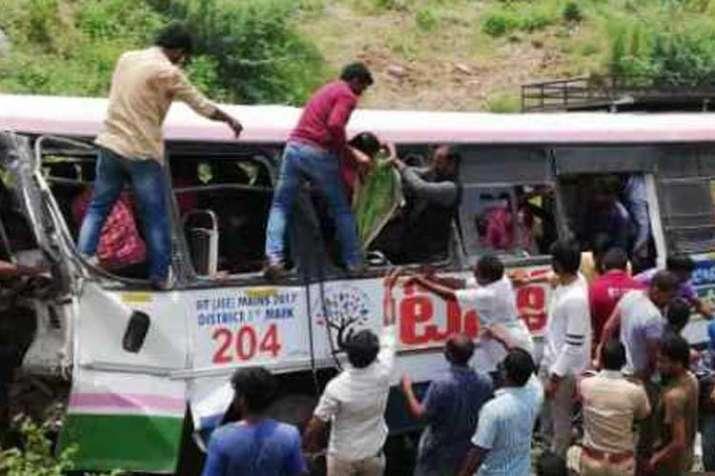 Telangana bus tragedy- India TV