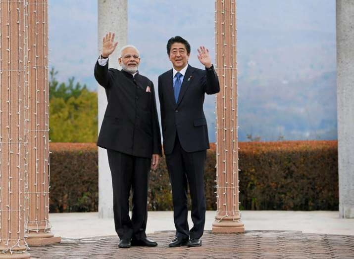 "Japanese PM Shinzo Abe vows to be a ""friend of India for life""- India TV"
