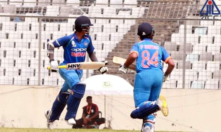 बांग्लादेश को हराकर फाइनल में टीम इंडिया- India TV