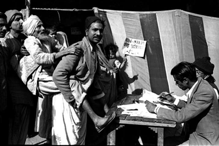 1st General Elections in India on October 25th 1951- India TV