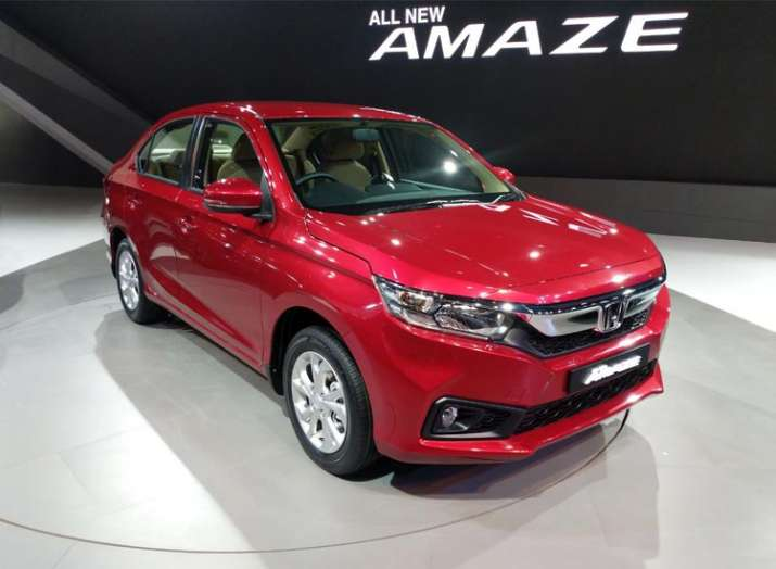 Honda's new Amaze records 50000 unit sales in 5 months- India TV Paisa