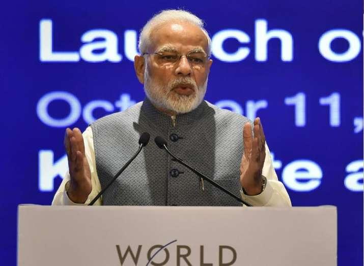 PM Modi inaugrates Centre for 4th Industrial Revolution in New Delhi- India TV