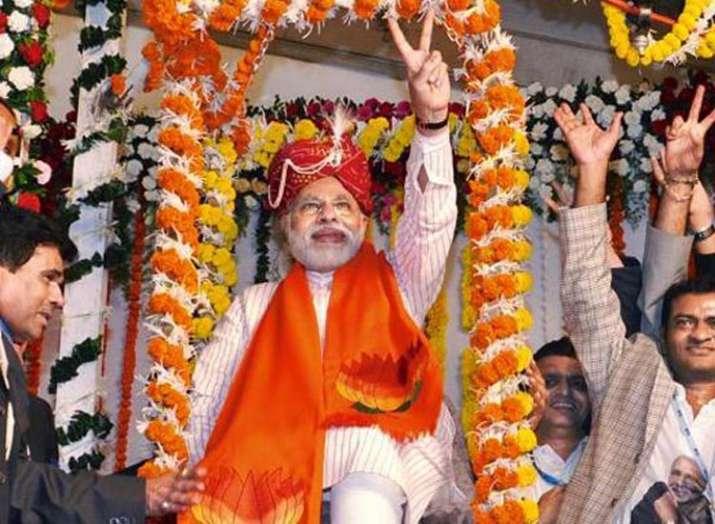 Maharashtra BJP calls Modi 11th Avatar of Lord Vishnu- India TV