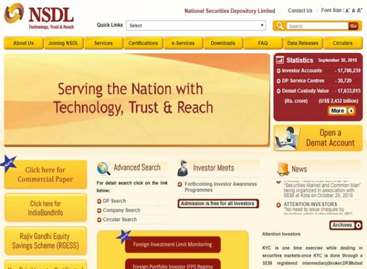 NSDL Payments Bank starts operations- India TV Paisa