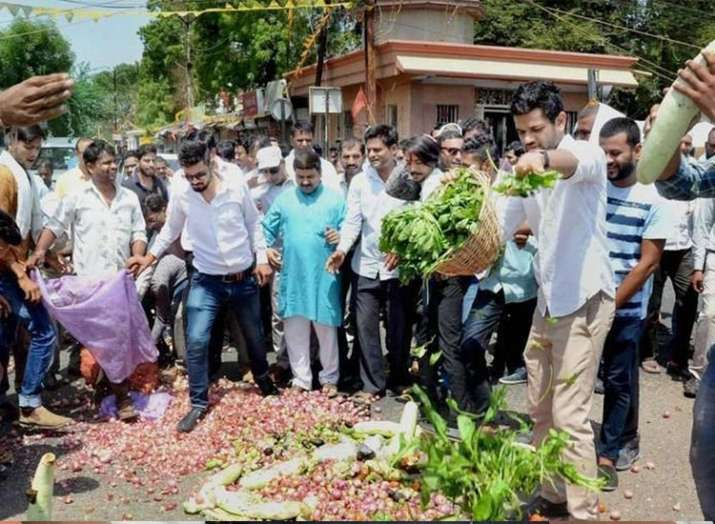 RSS, farmers, agitation, Gujarats- India TV
