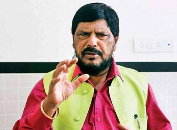 Reservation should be given to economically backward people in higher castes: Ramdas Athawale- India TV