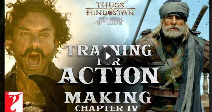 Making of Thugs Of Hindostan- India TV