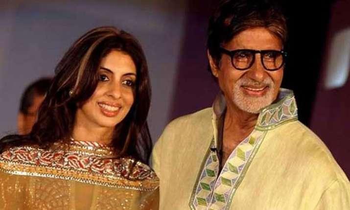अमिताभ-श्वेता- India TV