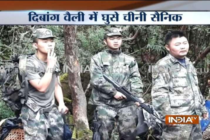 Chinese troops enters Indian side in Arunachal Pradesh- India TV
