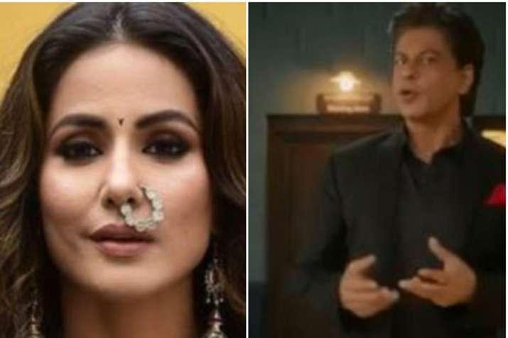 Hina Khan, Shah Rukh Khan- India TV