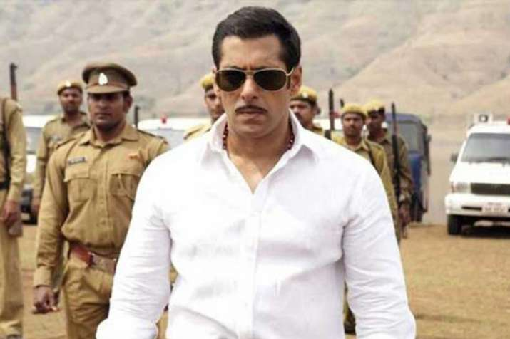 Salman Khan in Dabangg - India TV