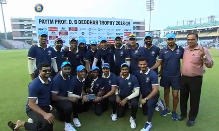 Deodhar Trophy 2018:- India TV