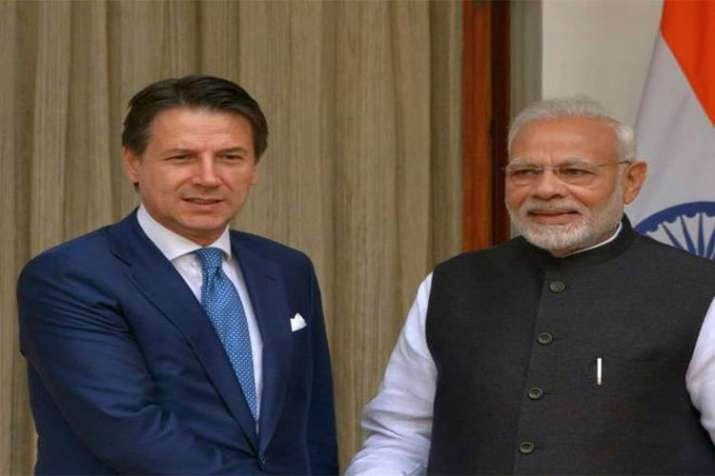 A warm welcome to the Italian Prime Minister, Mr Giuseppe Conte in India says PM Modi- India TV