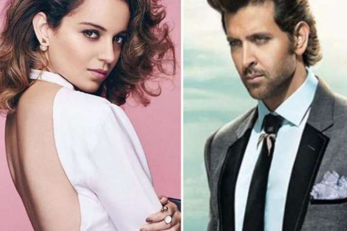 Kangana Ranaut, Hrithik Roshan- India TV
